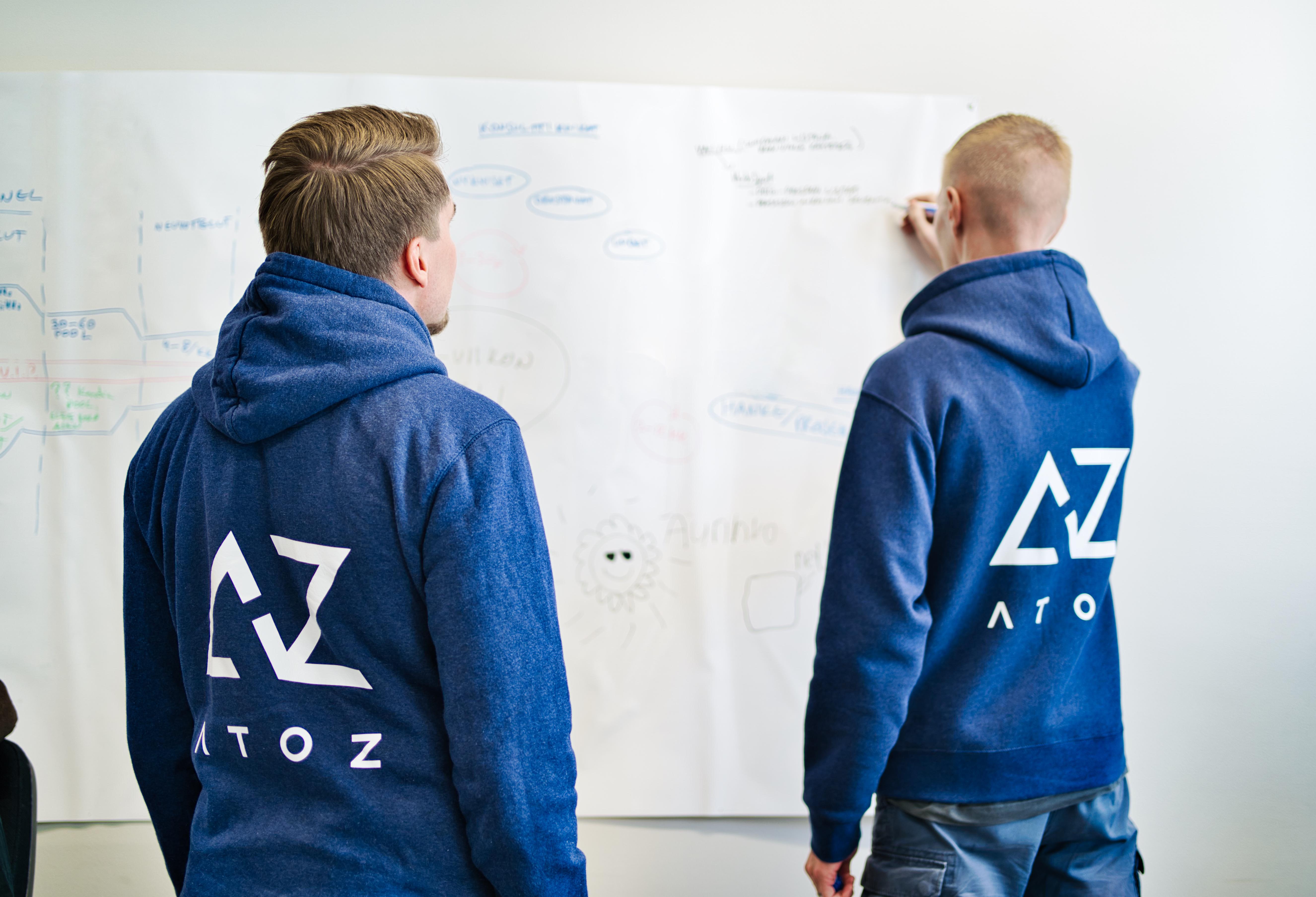 AtoZ-hupparit-valkotaululla